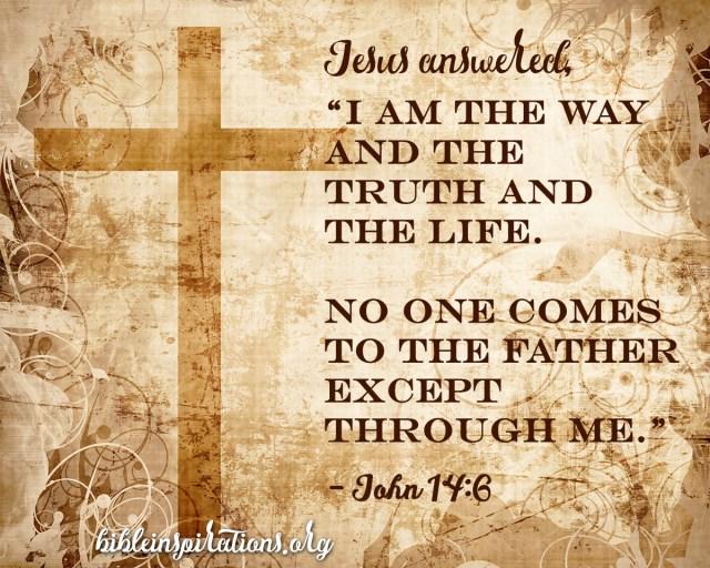 Cross on parchment