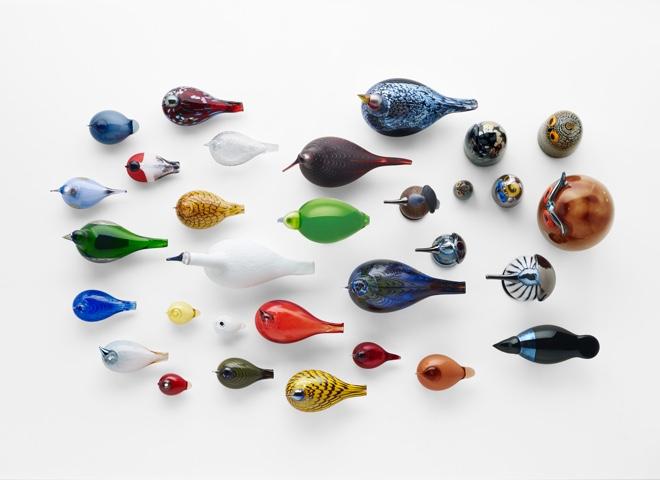 glazen design vogels by Toikka, ware kunstwerkjes.