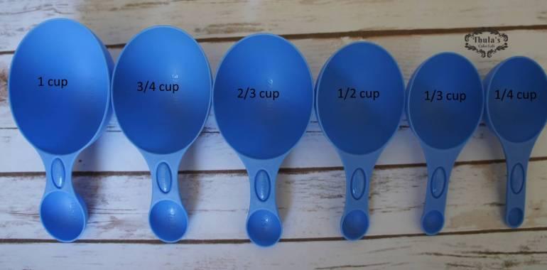 Dry Ingredients measuring cups