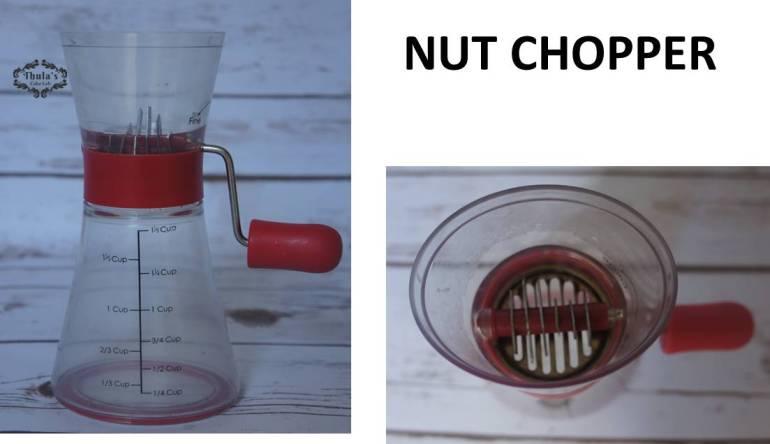 Nut chopper