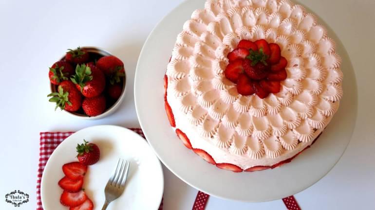 Strawberry cake -1