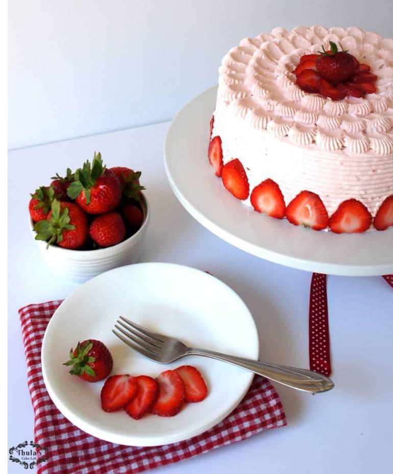 Strawberry cake -2