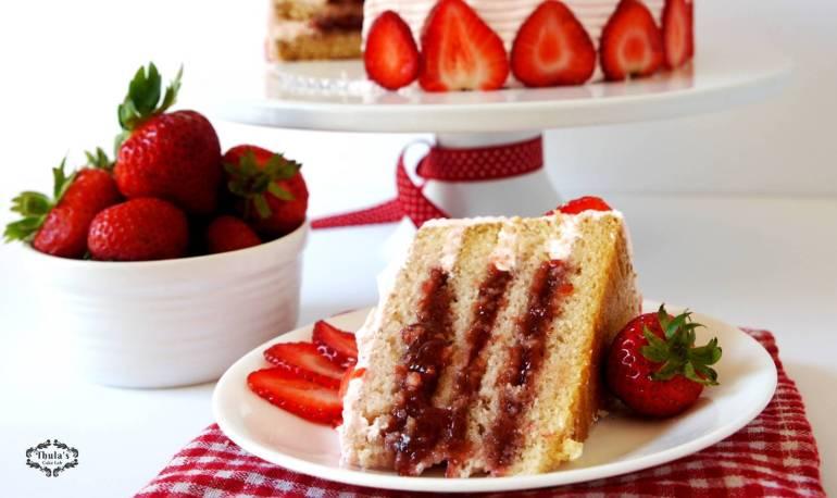 Strawberry cake -4