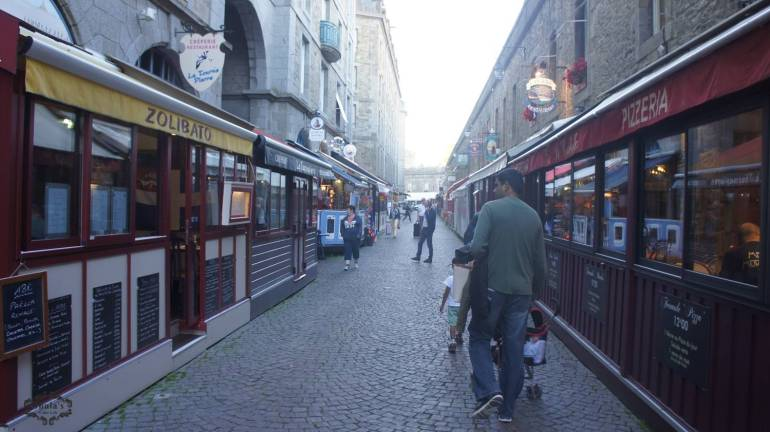 streets of sain malo port city