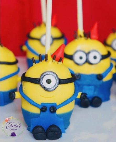 Fantastic Minion Theme Treat Ideas Thulas Cake Lab Personalised Birthday Cards Sponlily Jamesorg