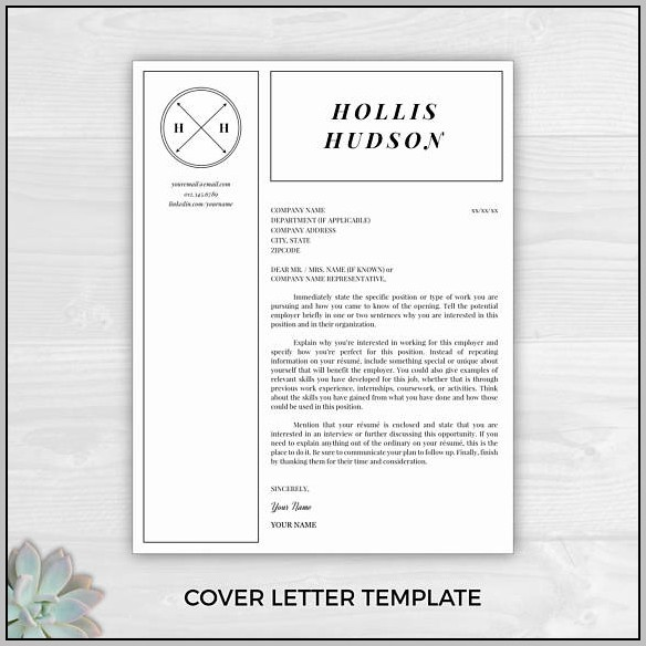 Free Cover Letter Samples Word