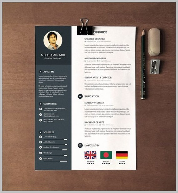 Free Creative Cover Letter Template Word