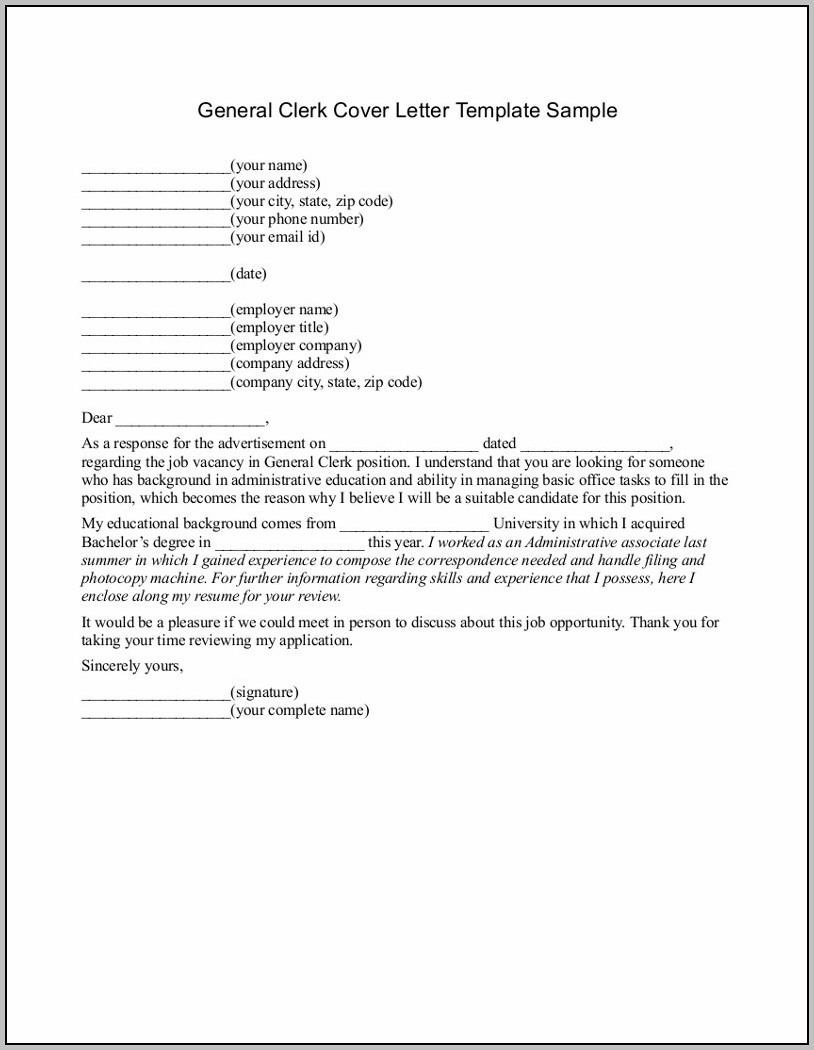 Free Printable Cover Letter Templates Microsoft Word
