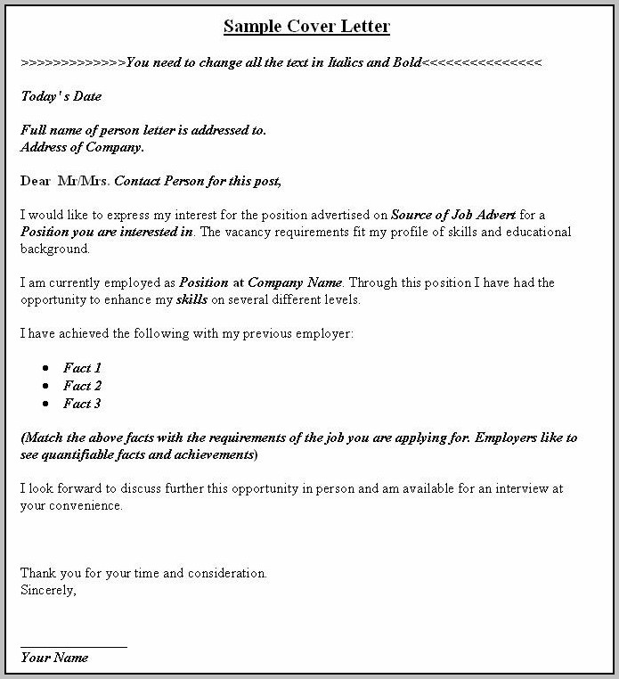 Sample Cover Letter For Graduate Teaching Assistant