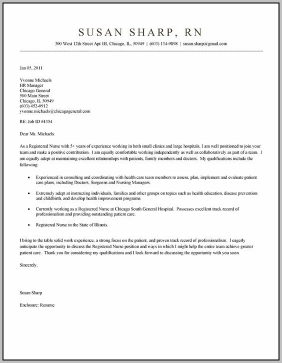 Sample Cover Letter For Kindergarten Teaching Position
