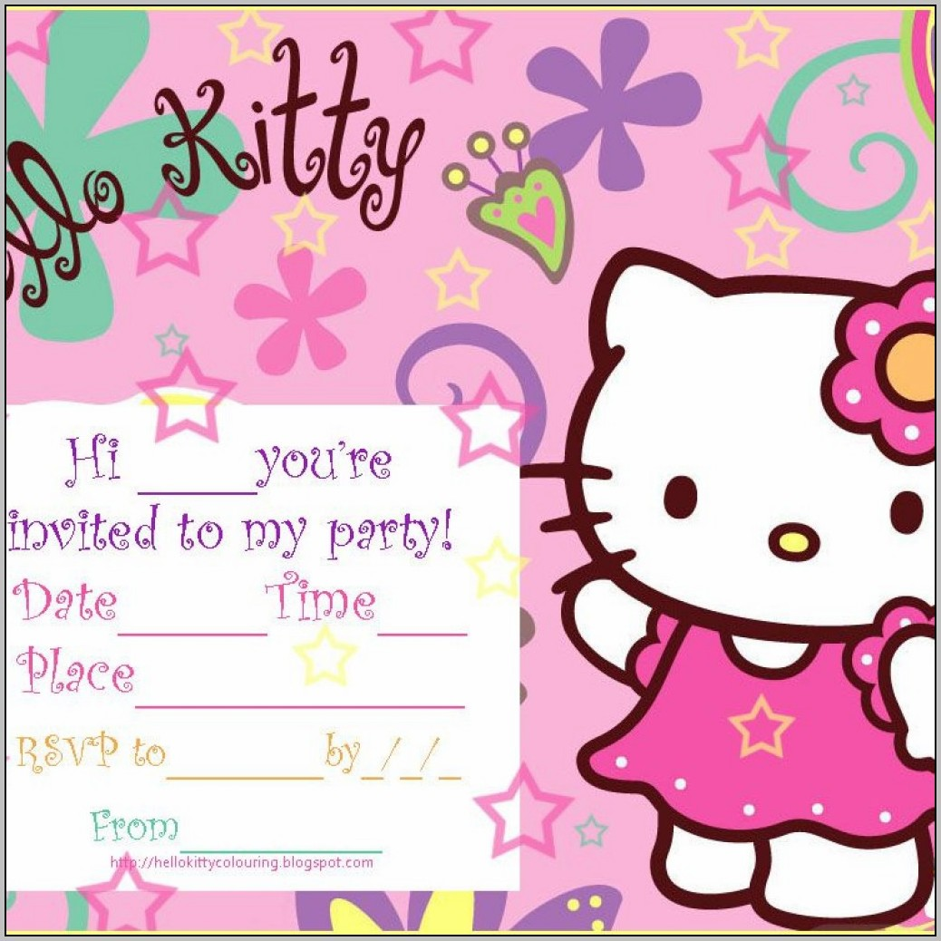 Birthday Invitation Background Templates