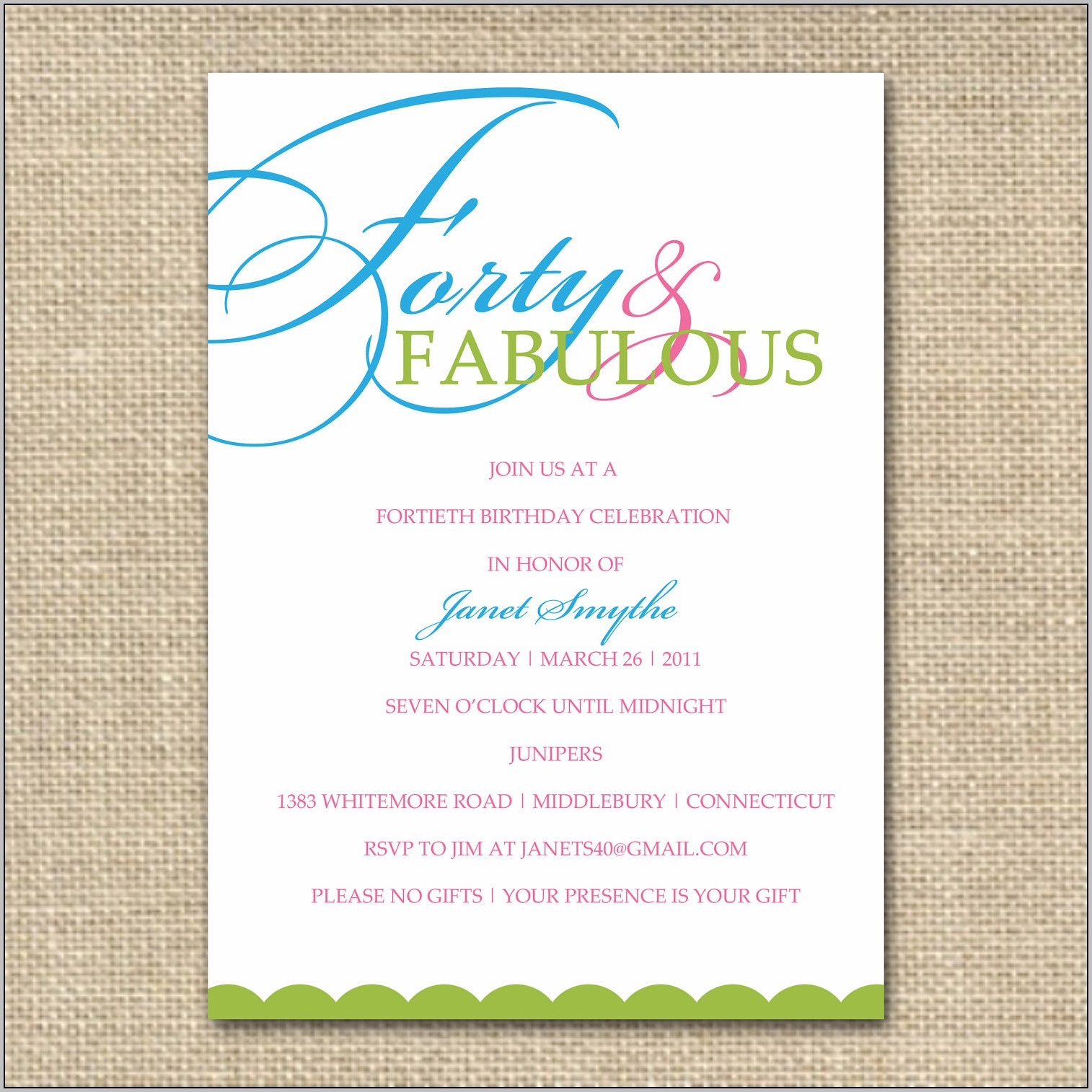 Birthday Invitation Maker Online Free Printable