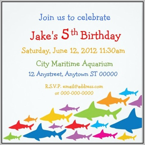 Birthday Invitation Templates Email