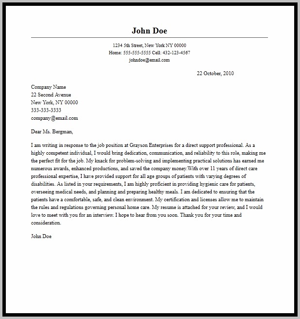 Cover Letter Help Melbourne