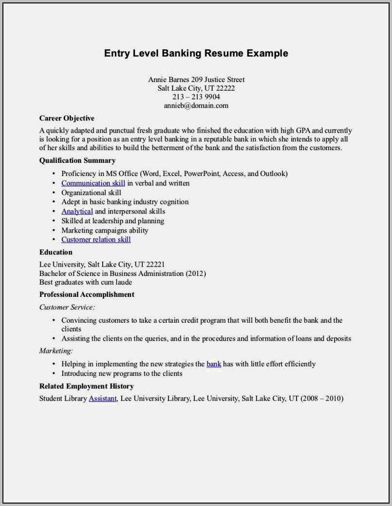 Example Cover Letter For Resume Bartender