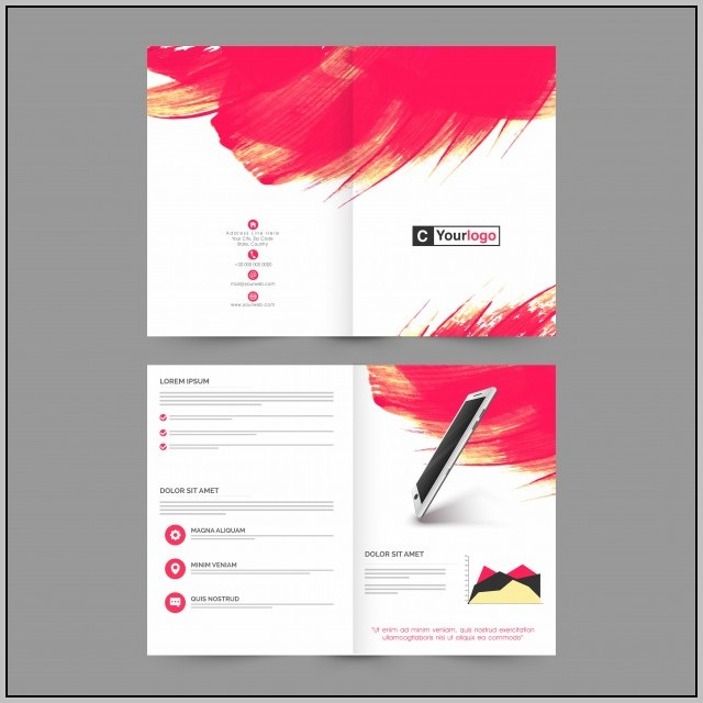 Free Brochure Templates For Pages