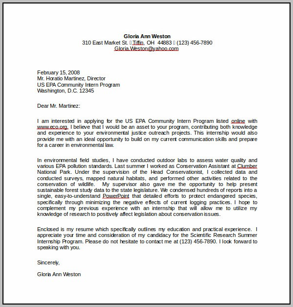 Free Cover Letter Templates Microsoft Download