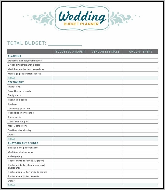Free Wedding Seating Plan Template Excel
