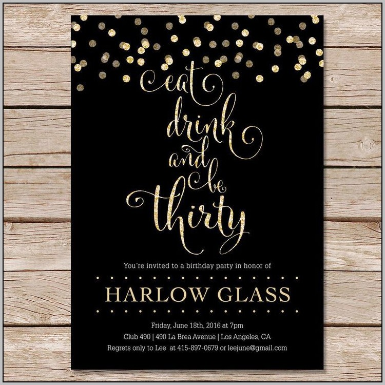 Jack Daniels Party Invitation Template Free