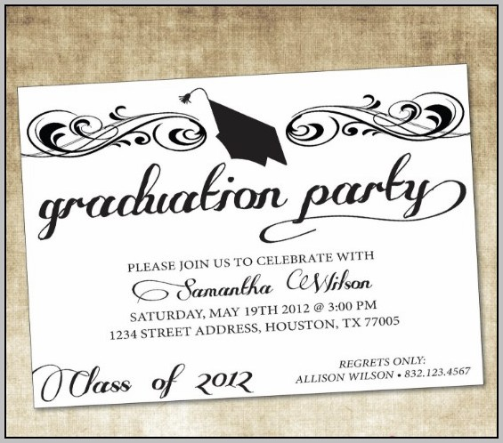 Party Invitation Design Template