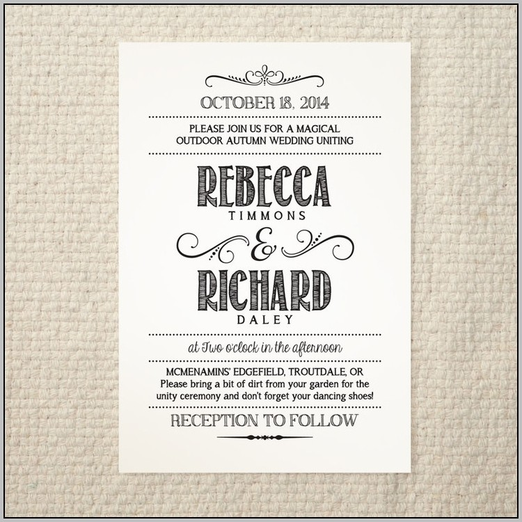 Party Invitation Template Pdf