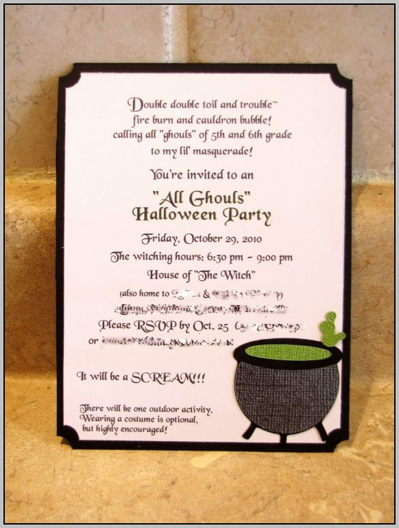 Party Invitation Wording Ideas