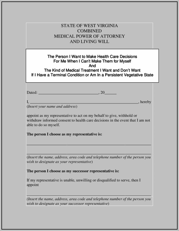 Power Of Attorney Template Uk