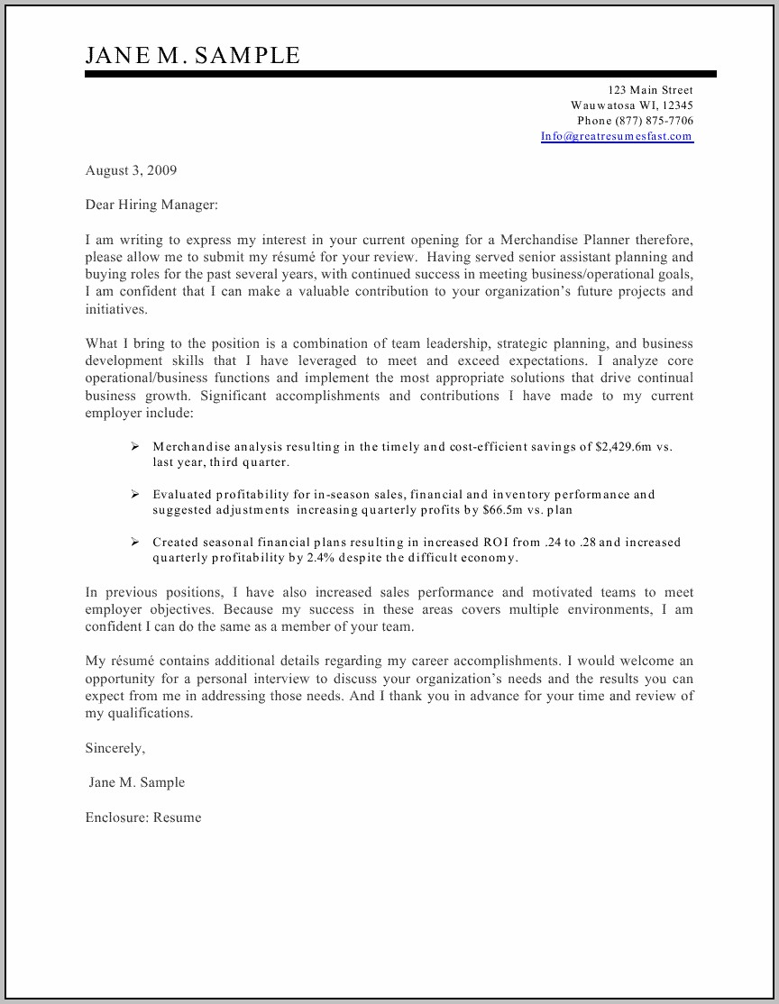Resumes And Cover Letters 2016