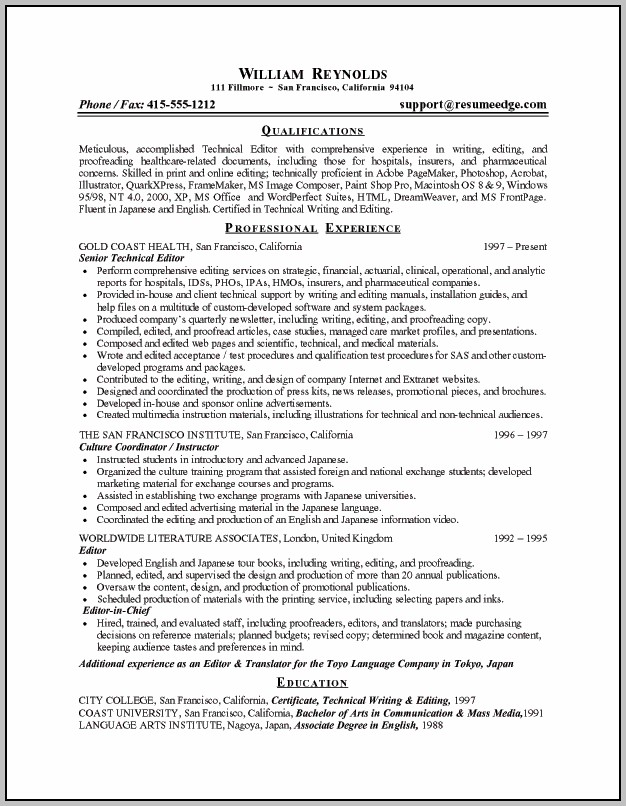 Samples Of Resumes And Cover Letters Free
