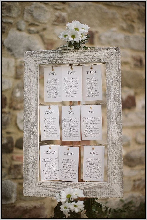 Wedding Seating Chart Template 15 Tables