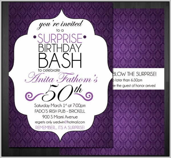 18th Birthday Party Invitation Template Free