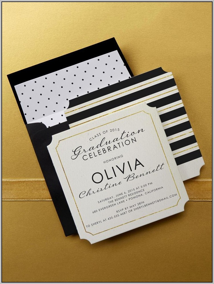 Beautiful Graduation Invitations
