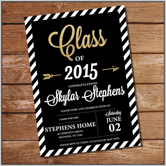 Best Graduation Party Invitations