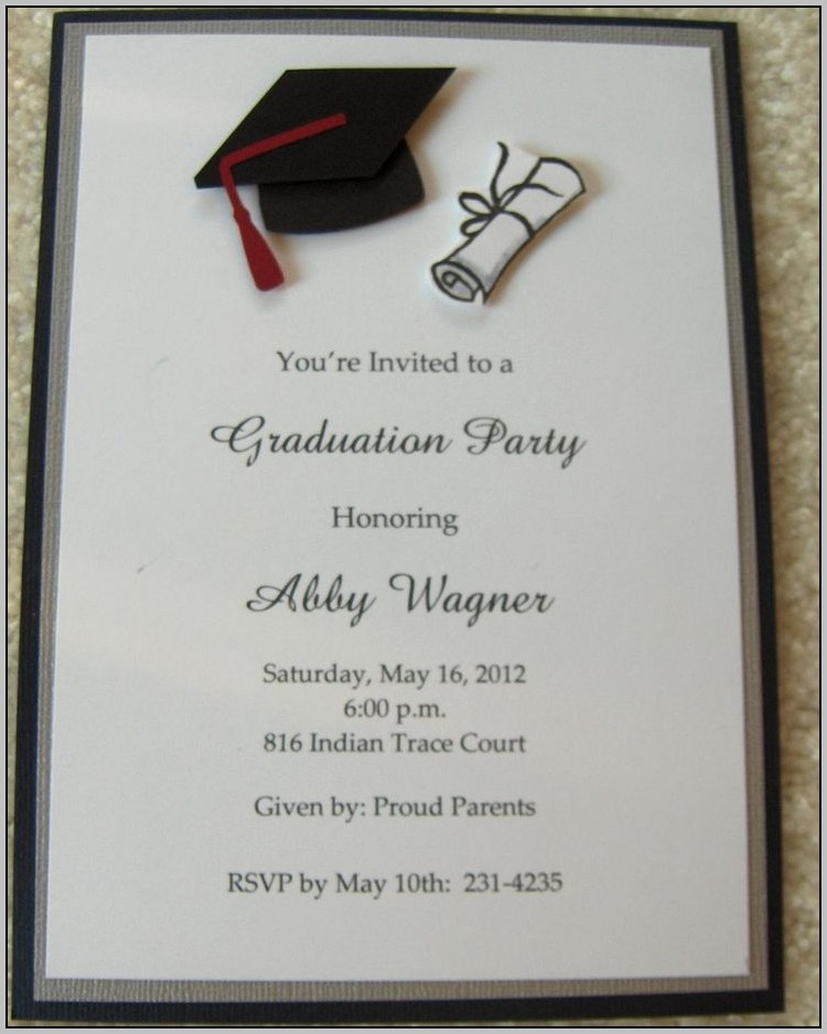 Best Place To Get Graduation Invitations