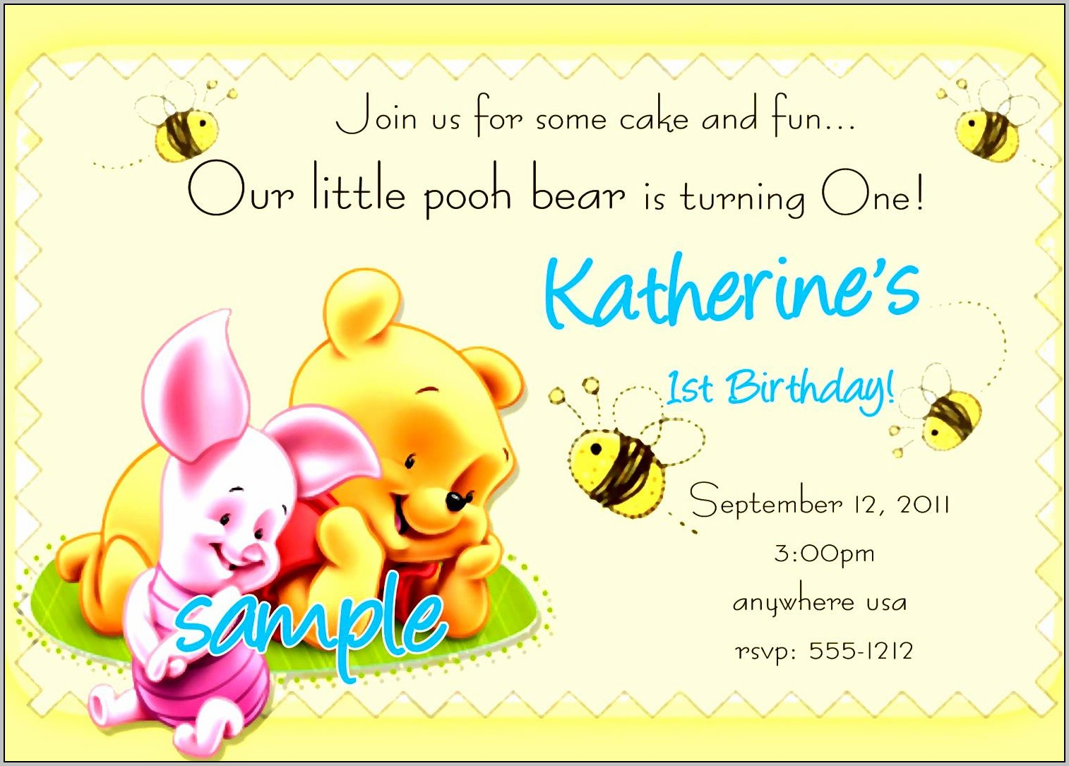 Birthday Party Invitation Card Samples