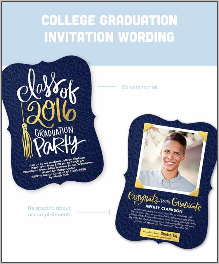 Buy Graduation Invitations