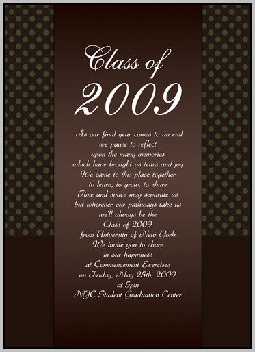 Create Graduation Invitations Online