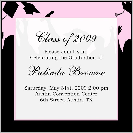 Create Graduation Invitations