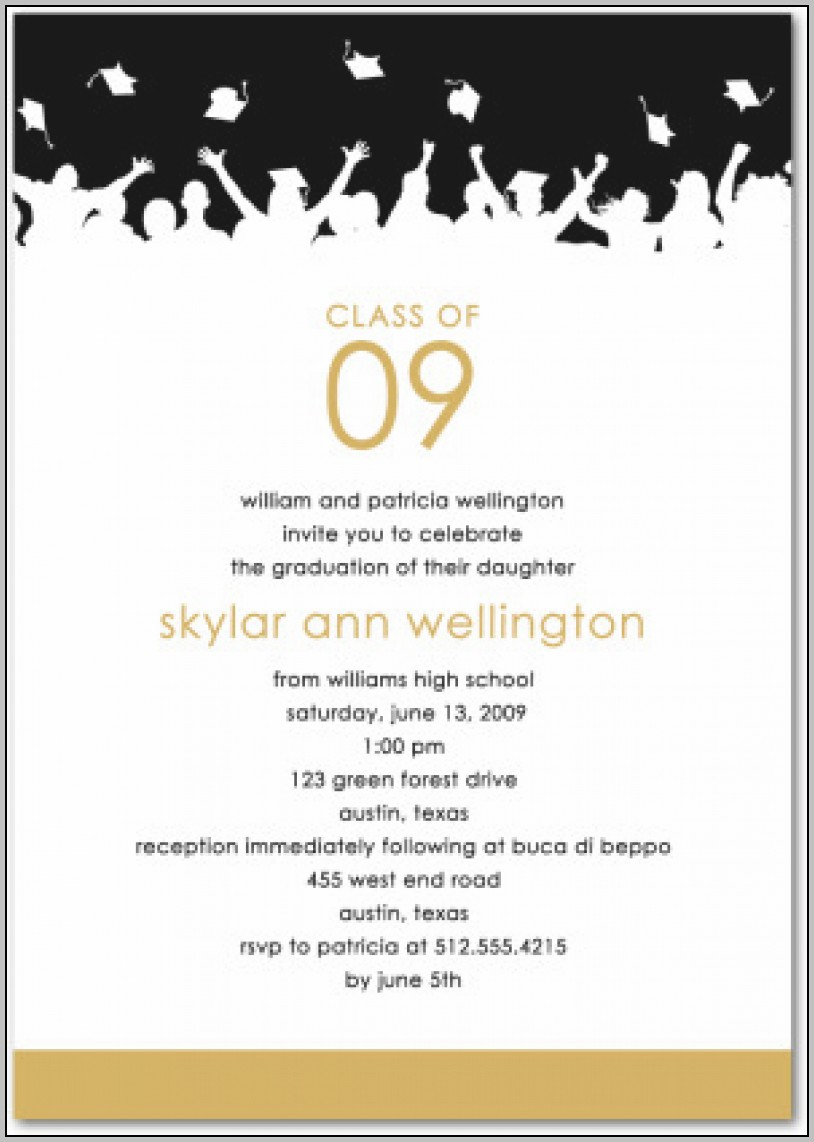 Create My Own Graduation Invitations