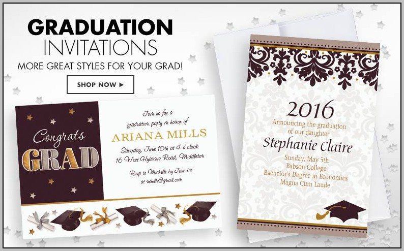 Create Your Own Graduation Announcements