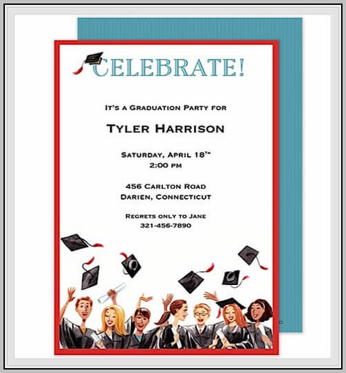 Create Your Own Graduation Invitations