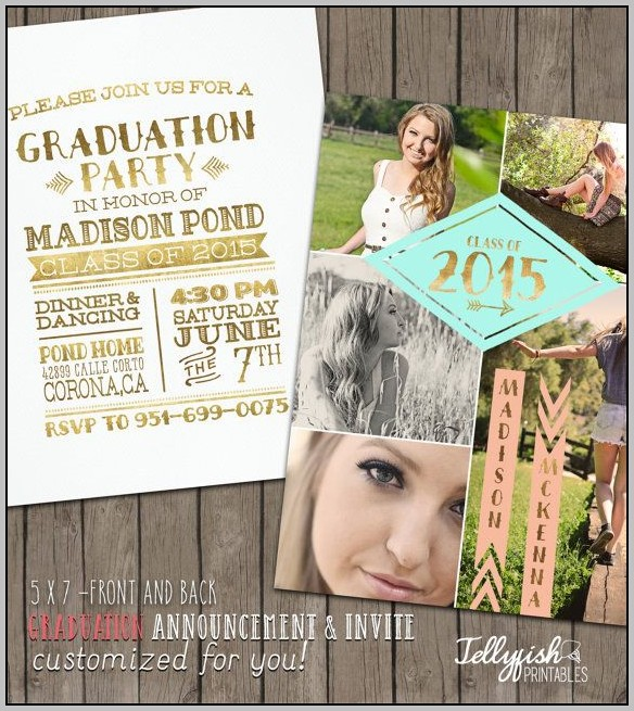 Design Your Own Graduation Announcements