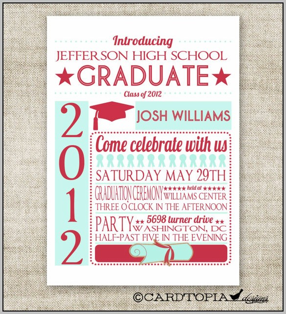Diy Graduation Invitations