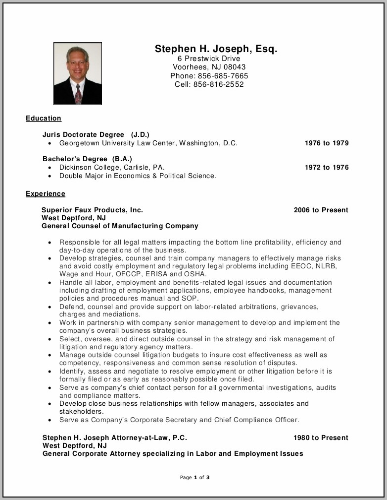 Employee Handbook Sample Nj