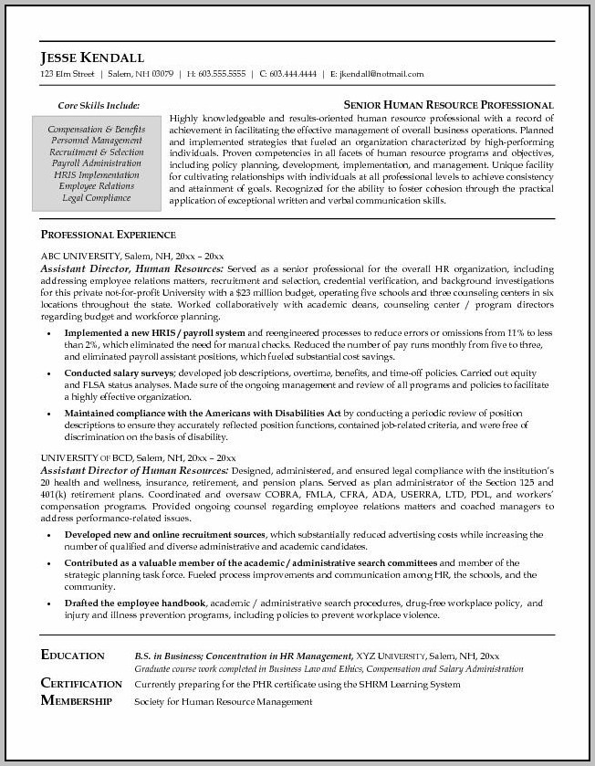 Employee Handbook Sample Shrm