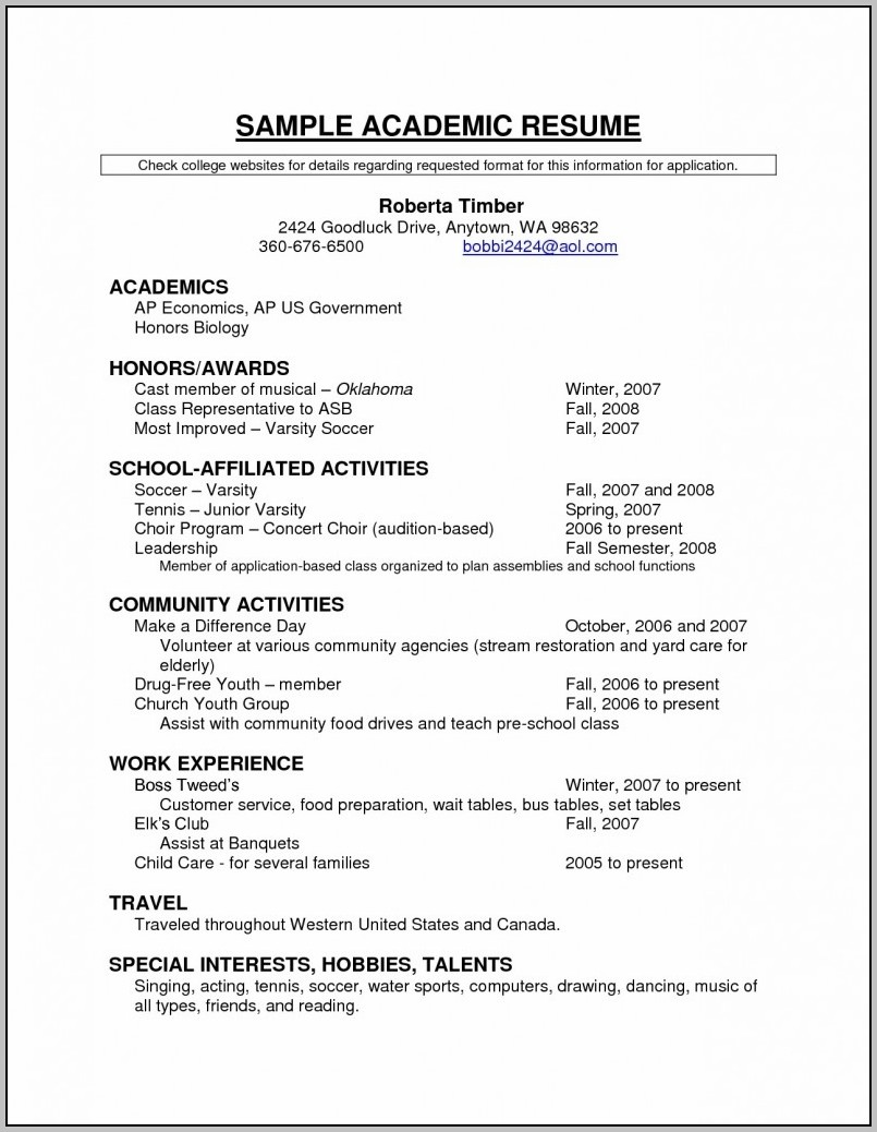 Fill In The Blank Resume Objective