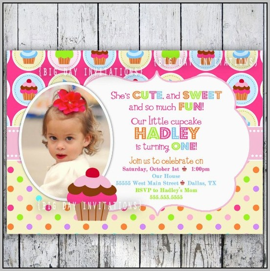 Free Birthday Invitation Card Design Template