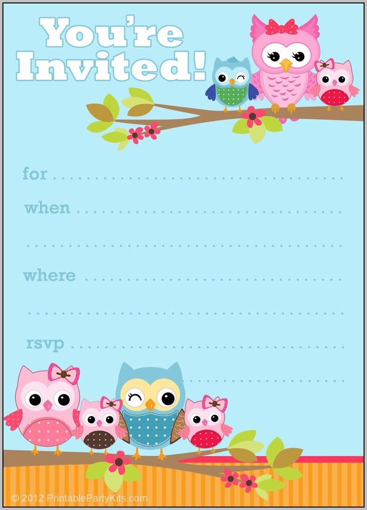 Free Birthday Invitation Card Maker Download