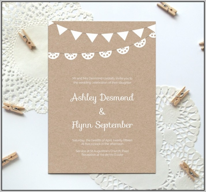 Free Birthday Invitation Templates Psd