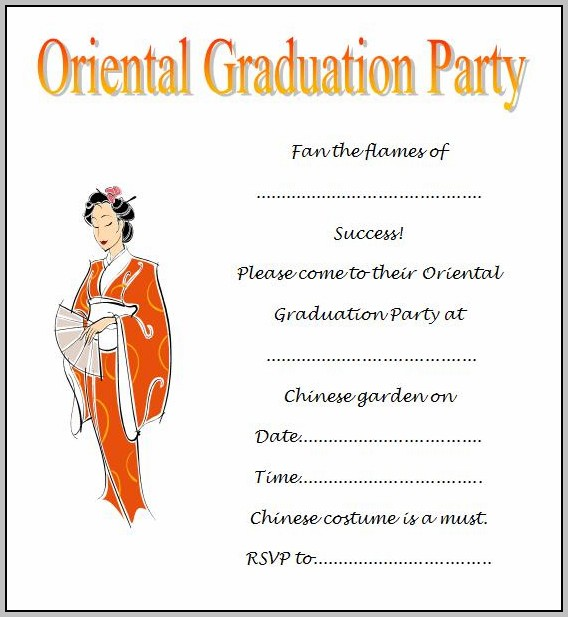 Free Graduation Announcements Templates